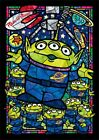 266 piece jigsaw puzzle toy  story alien stained glass tightly series stained