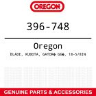 Oregon 396 748 Gator G6 Blades Kubota Gr2120 Zg2354 With 54 K5639 92332 9 PACK