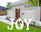 luck sea Christmas Joy Nativity Yard Sign Lawn Outdoor Decorations Assembly