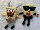 2 Sponge Bob Beanies. Sleigh Ride And Mr Cool.All Tags. Great.  Nickelodeon 2004