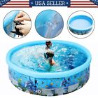 Big Inflatable Swimming Pool Summer Outdoor Reusable Foldable PVC Pools for Kids
