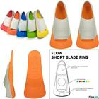 Flow Short Blade Swim Fins For Swimming Pool Lap Training Youth Sizes For Kids