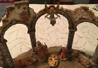 Huge Extremely Rare Depose Fontanini Heirloom 2000 Stage Wall10 Nativity Figure