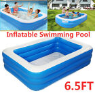 3layer Inflatable Swimming Pool Inflatable Blow up Pool Family Lounge Swim tool