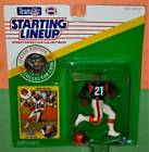 1991 JAMES BROOKS Cincinnati Bengals * FREE s/h * last Starting Lineup with coin