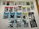 Lot of 24 Packs of Studio G Clear Acrylic Stamps Scrapbooking Card Making NIP