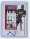 2020 Panini Contenders Football Cards - Final SP/SSP Ticket Checklist 51
