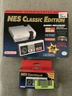 Nintendo NES Classic Edition Video Game Console with extra NES Controller