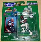 1998 extended series CURTIS MARTIN New York Jets Starting Lineup Dupe
