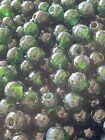 3 4mm Emerald Green Translucent Round Loose Glass Beads DIY Jewelry Making Bead
