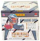 FACTORY SEALED AUTHENTIC 2013 Panini Prominence NFL Trading Cards Hobby Box