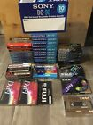 LOT 40 New Blank Audio Cassette Tapes SONY TDK MAXELL Memorex TDK Fuji