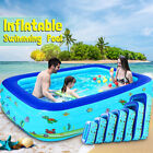 Inflatable Swimming Pool Above Ground Family Pool for Kids Adult Home In Outdoor