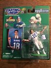 1998 Peyton Manning Extended Rookie Colts Starting Lineup W/ Collector Card