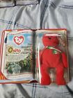 ty beanie babies extremely rare International Bears II, Osito the Bear. Red