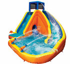 Banzai Sidewinder Falls Inflatable Water Slide with Tunnel Ramp Slide Open Box