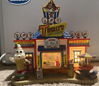 Lemax Village Collection Lighted Building Twirly's Soft Serve Broken Pieces