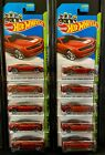 Hot Wheels 2014 202 2013 Chevy Camaro Special Edition Red Lot of 10