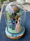 Vintage Wizard Of Oz Theres No Place Like Home Glass Dome Music Box T F Mint