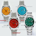 Parnis 395mm blue red sapphire glass 21 Jewels miyota 8215 automatic mens watch