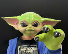 Movie Yoda Baby Mask Gloves Face Protector Suit Cosplay Props Emulsion Equipment