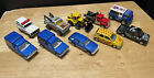 Majorette Assortment Of Cars Trucks And City Vehicles Lot Of 10 Loose