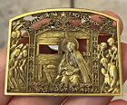 MFA Museum of Fine Arts Gloria in Excelsis Deo Nativity Manger Christmas Pin
