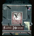 2011-12 Panini Elite Hockey Hobby Box - 20 packs - Factory Sealed