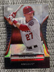 2012 Topps Mike Trout Golden Moments die cut refractor SSP RARE GMDC-77