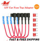Mini APM ATM Blade Fuse Holder 5 Pack 12V Car Add A Circuit Fuse Tap Adapter US
