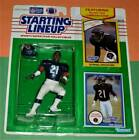 1990 DONNELL WOOLFORD Chicago Bears Rookie NM- sole Starting Lineup + 1989 card