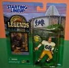 1998 RAY NITSCHKE Hall Of Fame GB Packers NM- #66 Legends sole Starting Lineup