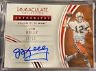 JIM KELLY 2016 Panini Immaculate Collegiate Auto Autograph #10 10 Miami Bills