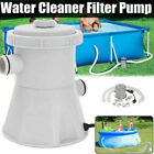 US plug Electric Swimming Pool Filter Pump Powerful Water Cleaning System Above