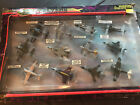 Lot Of Vintage Road Champs Flyers 12 Plane Set Die Cast Collection 62125