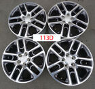 17 Jeep Compass Wheels OEM Factory Polished 5VN86TRMAB 113D