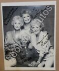 The Golden Girls Signed Autographed Complete Cast with Beckett COA