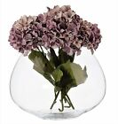 Large Clear Glass OVAL Flower Orchid Vase Terrarium Tank Vase Planter Fish Bowl
