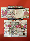Set of 7 CardSmart and Recollections Sticker Books for Planners and