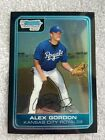 Alex Gordon Rookie and Prospect Card Guide 55