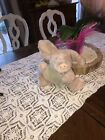Boyds Bears & Friends Primrose Pink Pig Plush  Stuffed Animal 11in QVC Exclusive