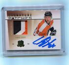 2009 10 Upper Deck The Cup Signature Patches Claude Giroux Patch Auto 75 Flyers