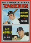 Top 10 Thurman Munson Baseball Cards 18