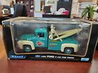 Rare 1956 Ford F 100 Tow Truck Bobs Towing 118 Welly DieCast MIB