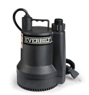 Everbilt Plastic Submersible Utility Sump Pump 1680 GPH SUP54 HD 1 6 HP