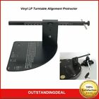 Vinyl LP Turntable Alignment Protractor Tool For Turntable Phono Record Player