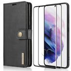 For Samsung Galaxy S21 5G Wallet Case Card Holder RFID Blocking Magnetic Leather