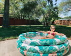 Family Inflatable Swimming Pool for Kid Adult Portable Outdoor Garden Backyard