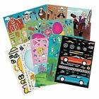 Kicko Sticker Scene Mega Assortment Set of 96 Cute Stickers Scene for Birth