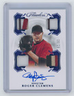 2020 Panini Flawless Roger Clemens Game Used Patch Sapphire Autograph 15 15 Auto